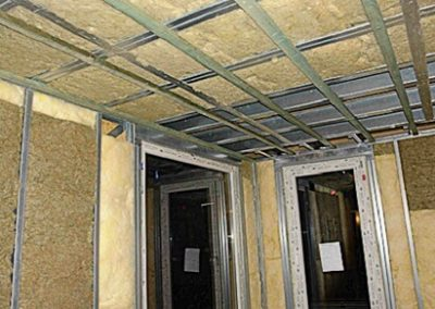 4- Esquema de aislamiento para sistema Steel Framing