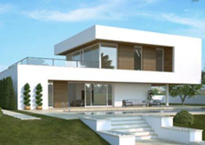 7b- Diseños de construcción modernas desde 450 euros m2