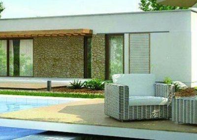 9b- Diseños de construcción modernas desde 450 euros m2
