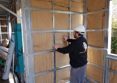 Casa en Construcción Steel Framing 4