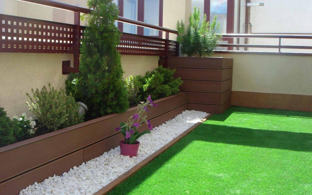 Reforma integral de jardines en Madrid
