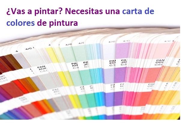 Carta de colores portada reformas baratas madrid - Reformas integrales madrid opiniones ...