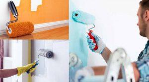 Pintar vivienda en verano para la venta