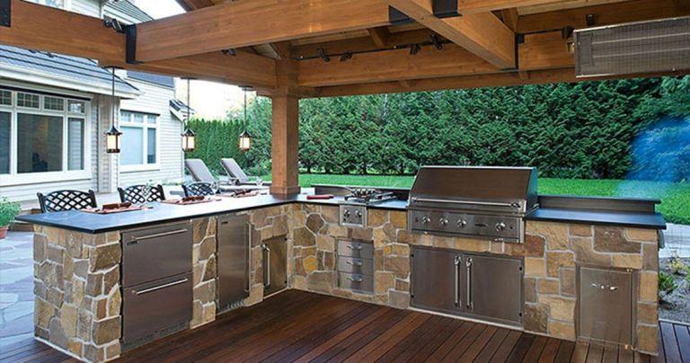 Cocinas al aire libre para cocinar